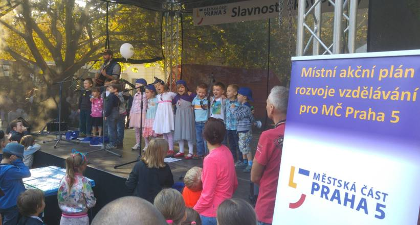 Koncepce školství MČ Prahy 5 na Slavnostech škol