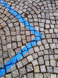 parkování v Praze - modré zóny