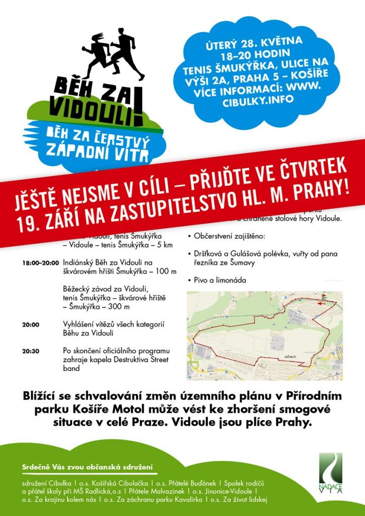 Běh za Vidouli na magistrátě 19. září 2013