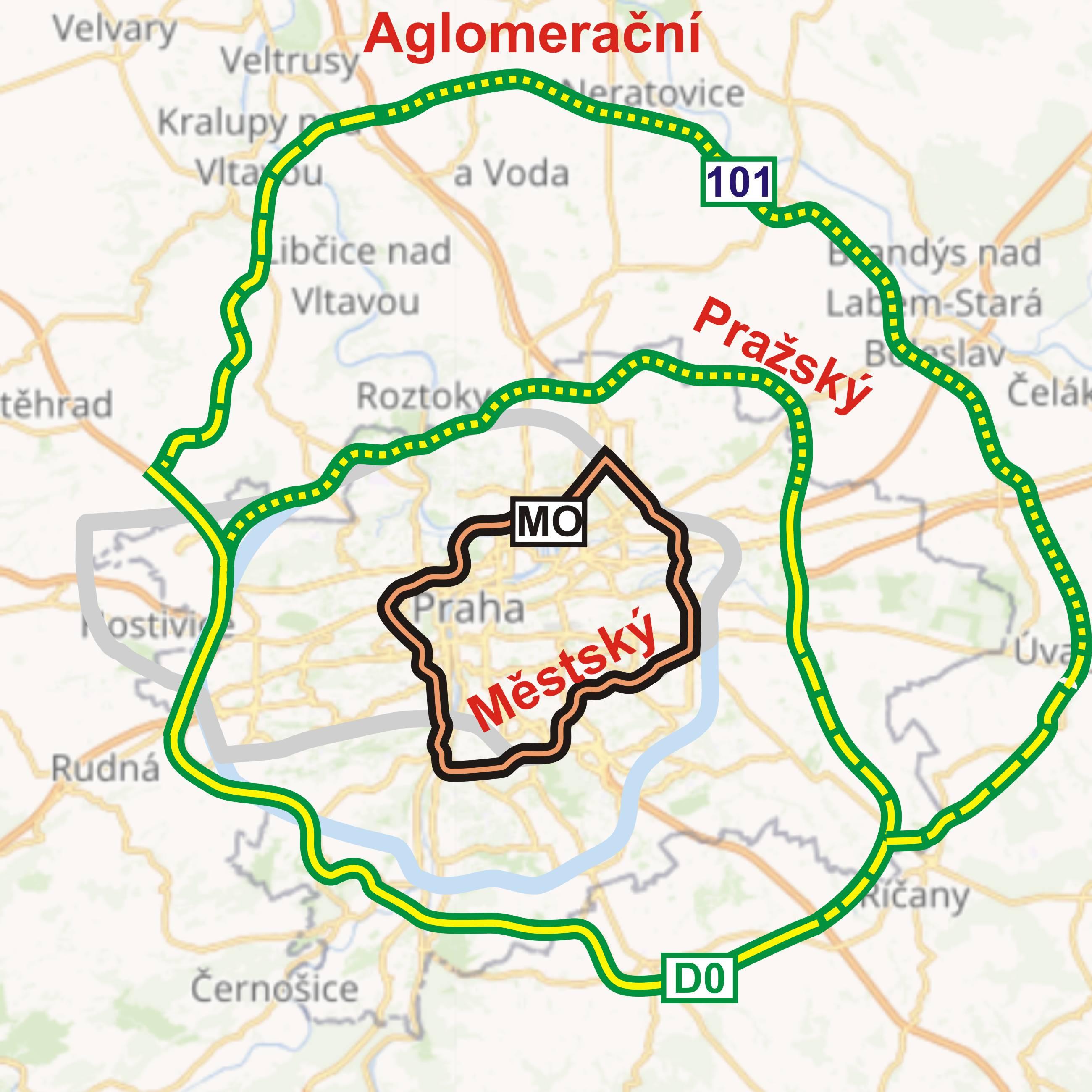 Aglomerační a Pražský okruh