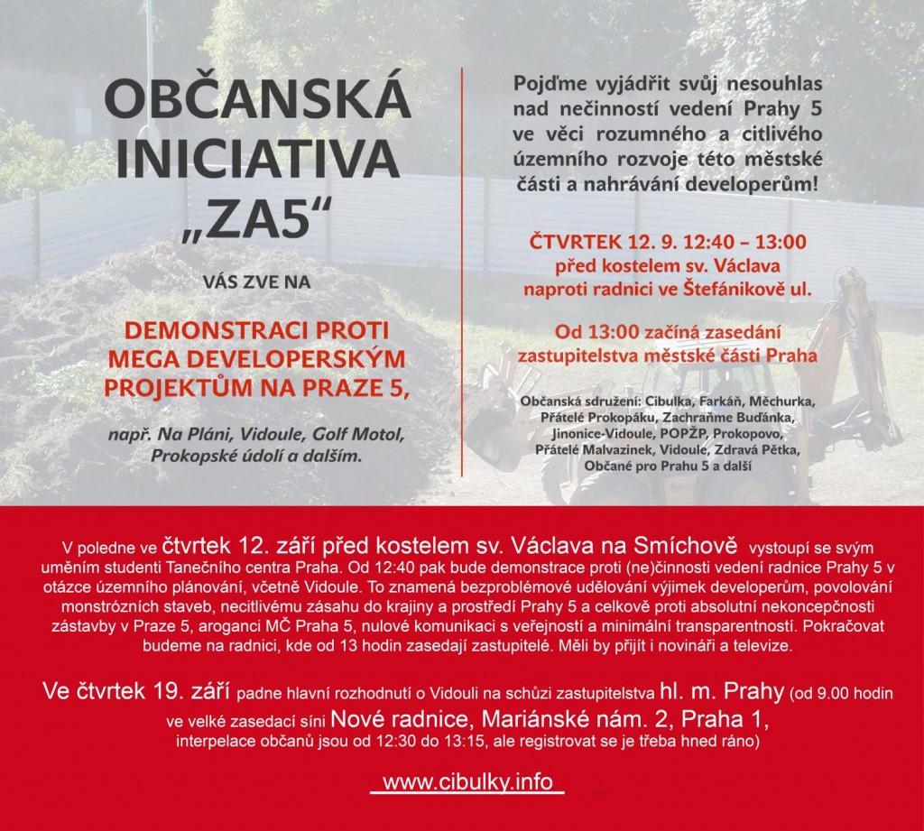 Za5 starostovi Prahy 5 a koalici UNP